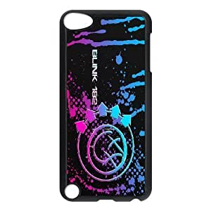 Custom High Quality WUCHAOGUI Phone case Blink 182 Pattern Protective Case FOR Ipod Touch 5 - Case-13