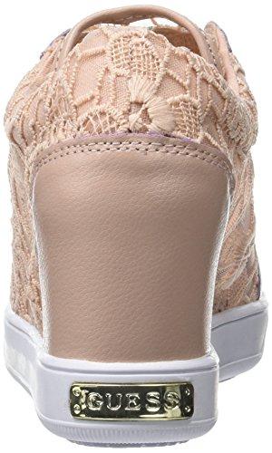 GUESS Finna, Zapatillas de Tenis para Mujer Rosa (Light Pink)