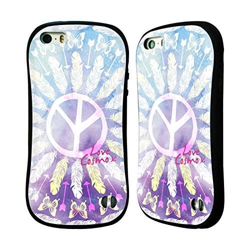 Official Cosmopolitan Mandala 1 Boho Hybrid Case for Apple iPhone 5 / 5s / SE