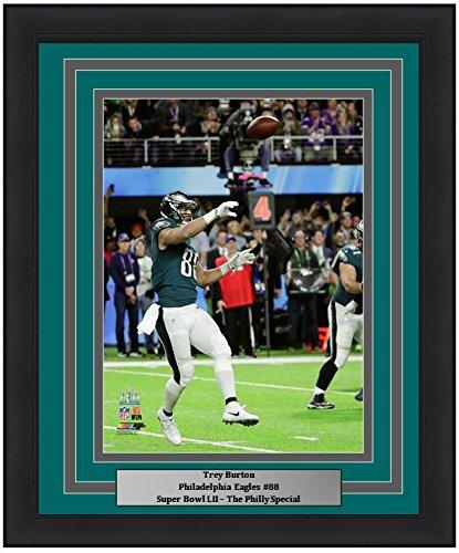 45c4761a Amazon.com: Eagles Super Bowl 52 Trey Burton Philly Special Touchdown Throw  8