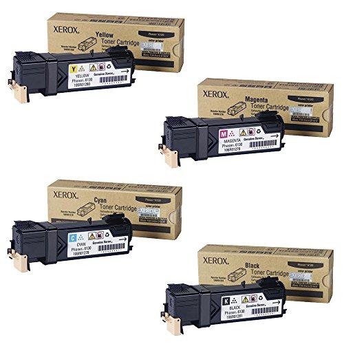 Xerox Phaser 6130 Standard Yield Toner Cartridge Set