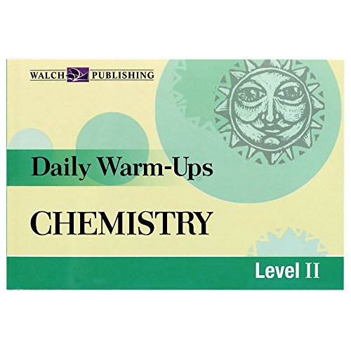 Daily Warm-Ups: High School Chemistry Book