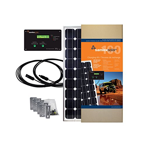 Samlex America Solar SRV-100-30A All-in-One Solar Charging Kit