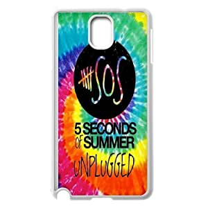 Custom High Quality WUCHAOGUI Phone case 5SOS music band Protective Case For Samsung Galaxy NOTE4 Case Cover - Case-14