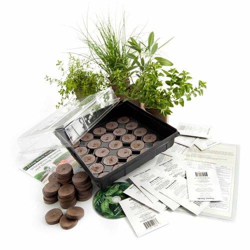 Stackable Planter Medicinal Herb Garden Starter Kit