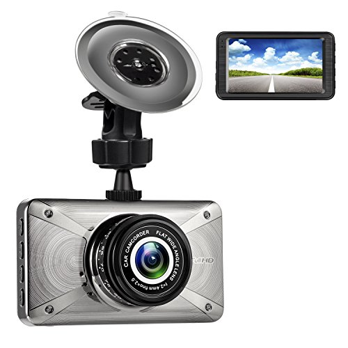 3.0″ 1080P Car Dash Cam, LCD Full HD H.264 170 Degree Wide Angle Dash Camera, Car DVR with Sony 323 Lens, WDR, G-Sensor, Parking Monitor For Sale