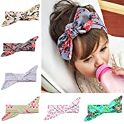 Baby Girl Cute Headband Head Wrap Hair Band (Multicolored 5)