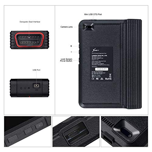 LAUNCH X431 V (Same Function with X431 V+) Bi-Directional Bluetooth Scan Tool Full System OBD2 Diagnostic Scanner with ECU Coding,Key Fob Programming, TPMS Reset, IMMO, SAS, DPF, EPB, ABS Bleeding by LAUNCH (Image #6)