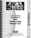 Case W14 Wheel Loader Service Manual