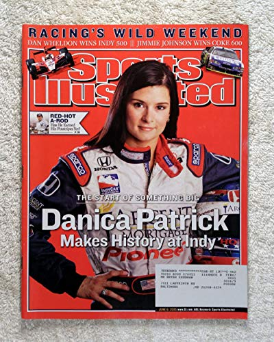 (Danica Patrick Makes History at Indy - Indianapolis 500 - Sports Illustrated - June 6, 2005-2005 Rookie of the Year - Auto Racing - SI)