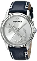 Sperry Top-Sider Women's 10018654 Audrey Anchor Analog Display Japanese Quartz Blue Watch from Sperry Top-Sider Watches MFG Code