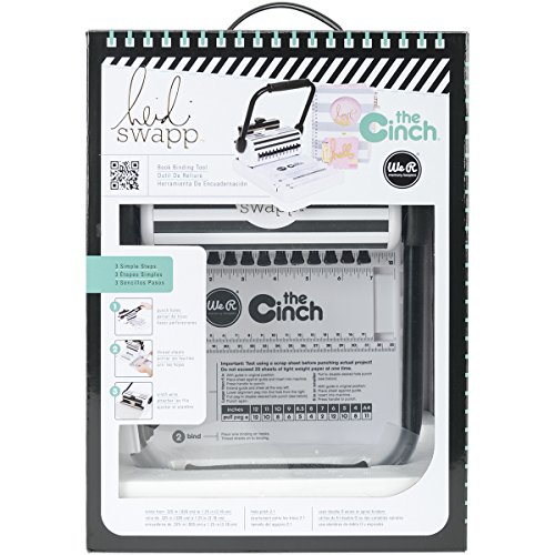 - Heidi Swapp Cinch Book Binding Machine by We R Memory Keepers | Black and White