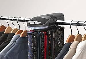 Sharper image motorized tie rack home kitchen for Motorized tie racks for closets
