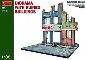 MiniArt 36036 - Diorama con casa en ruinas