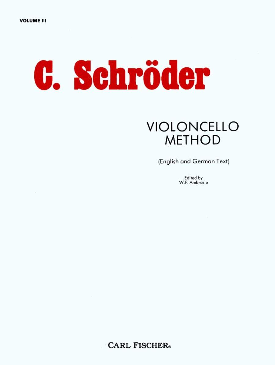 O3484 - Violincello Method - Volume 3 PDF