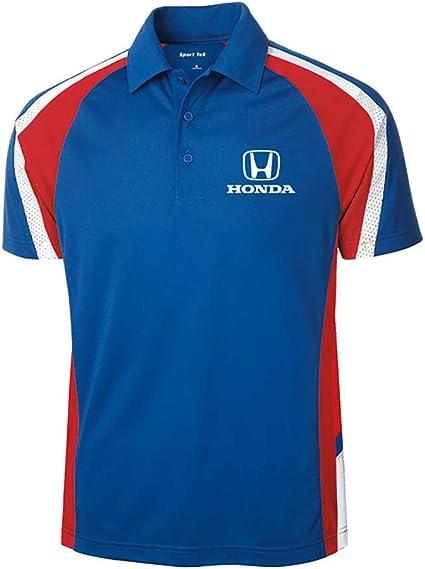 Speedgear Honda Blue Tricolor Micropique Polo