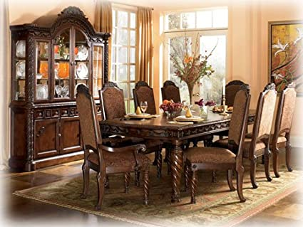 Ordinaire Signature Design By Ashley D553 35 North Shore Table, Dark Brown