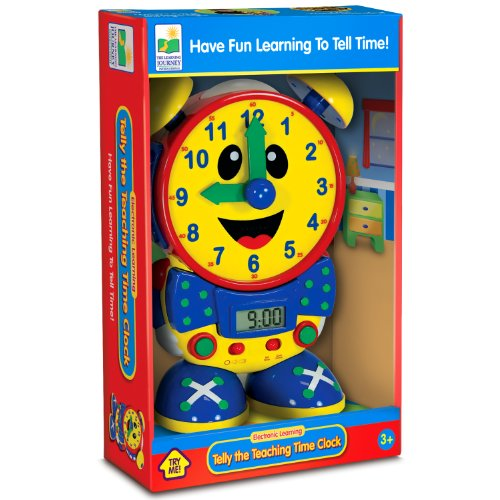 Telly The Teaching Time Clock by The Learning Journey | Educational Toys Expert