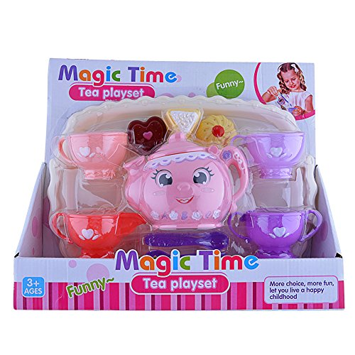 FunsLane Preschool Plastic Teacups Pretend