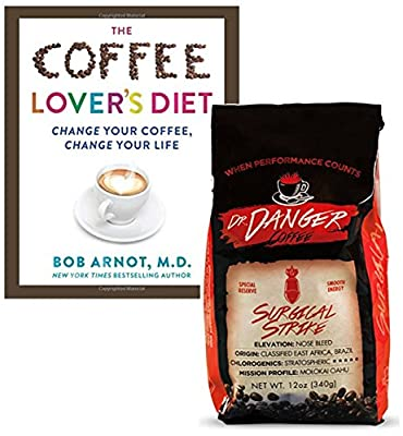 DrDanger Coffee Surgical Strike Scientifically Selected, Blended & Roasted, Whole Bean, 12 oz