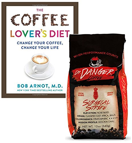 DrDanger Coffee Surgical Strike Scientifically Selected, Blended & Roasted, Whole Bean, 12 (Blended Mild Coffee)