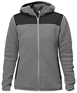 Fjallraven Sarek Fleece Hoodie - Women's Grey XS