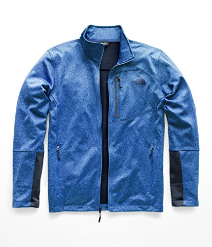 The North Face Men's Canyonlands Full Zip - Turkish Sea Heather - XXL