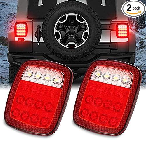 Universal 6 Led Side Marker Indicators Rear Tail light Trailer Truck Lorry HGV