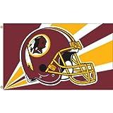 NFL Washington Redskins 3 by 5 Foot Flag