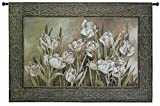 Fine Art Tapestries ''Tulips In Window'' Wall Tapestry