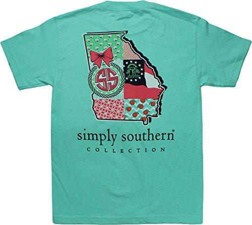 Simply Southern Tees Short Sleeve Preppy Georgia