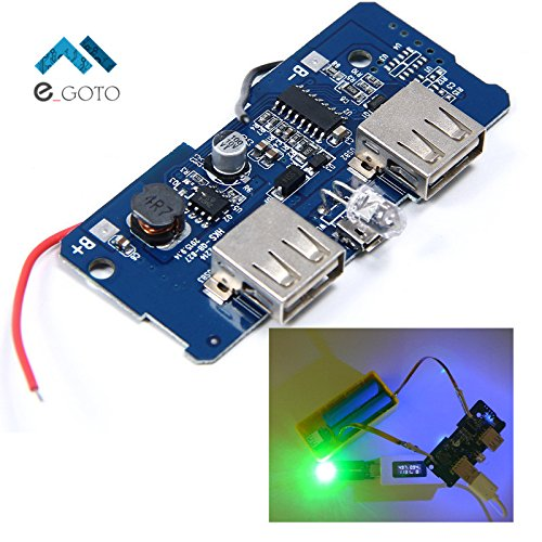 amazon com 5v 2a power bank charger board charging circuit board rh amazon com