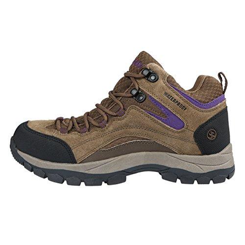 B Purple M Women's Pioneer Waterproof Northside M Boot 8 Hiking EU 39 Stone US ZqwBS