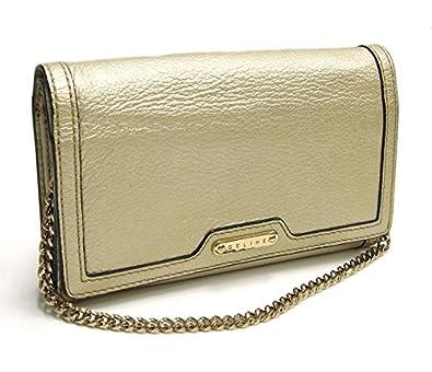b550908ad6a5 Amazon   セリーヌ チェーンウォレット ショルダーポーチ 長財布 シャンパンゴールドレザー [中古]   CELINE(セリーヌ)    レディースバッグ・財布