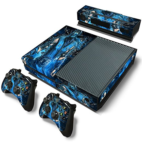 GoldenDeal Xbox One Console and Controller Skin Set - Kombat Duel - PlayStation 4 Vinyl Mortal Fight