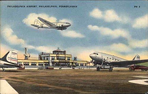 The Philadelphia Airport Philadelphia, Pennsylvania Original Vintage ()