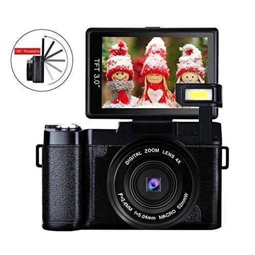 Digital Camera Vlog Camera Full HD 1080p 24.0MP Camcorder Vl