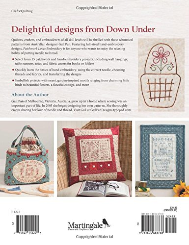 Patchwork Loves Embroidery: Hand Stitches, Pretty Projects by That Patchwork Place (Image #2)