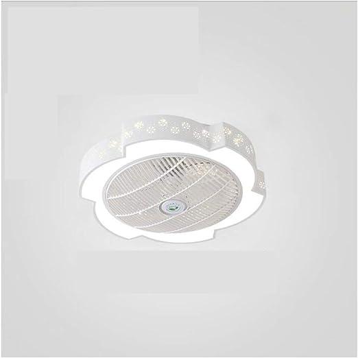Luz del ventilador Ventiladores de techo LED se ilumina con 3 ...