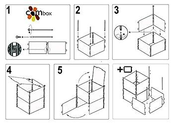 Tapa para Modulo Compostador de Jardín Combox (60x60cm ...