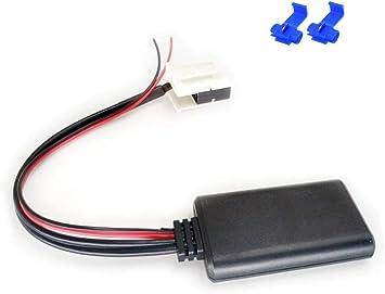 Watermark WM-BT17 Bluetooth Musik Adapter f/ür BMW 1er E87 3er E46 E90 E91 5er E60 E61 MP3 Audio Stream