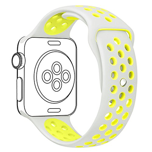 OULUOQI Silicone Replacement Silver Yellow