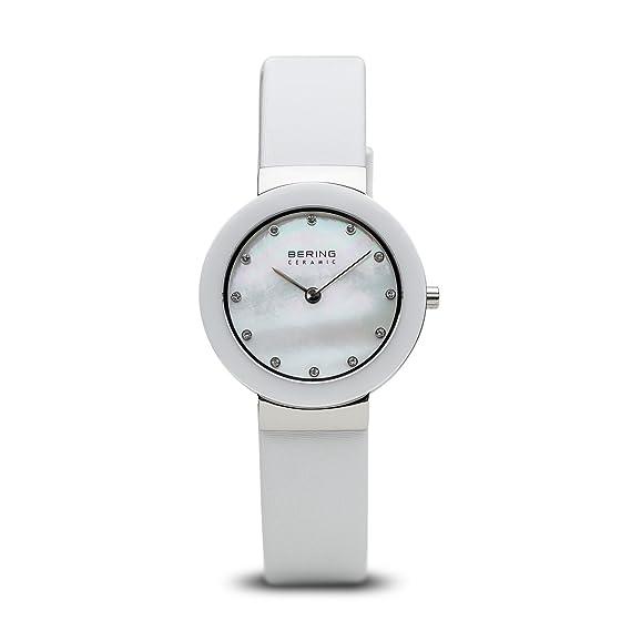 Bering Reloj para mujer Ceramic blanco 11429 – 604