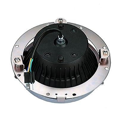 7inch Round Headlight Ring Mounting Bracket for Harley Davidson Headlight Mount: Automotive