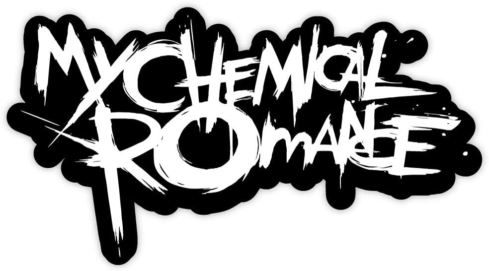 "My Chemical Romance sticker decal 6"" x 3"""