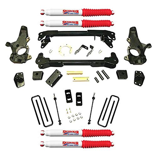 Skyjacker C9381K-H Suspension Lift Kit w/Shock 3 in. Lift Incl. Steering Knuckles Crossmembers Block U Bolt Kit Suspension Lift Kit w/Shock