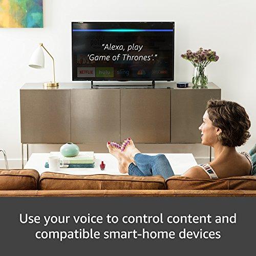 Fire TV Stick with Alexa Voice Remote + Echo Dot