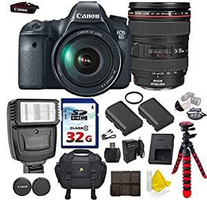 Amazon.com : Canon EOS 6D 20.2MP Full Frame DSLR with