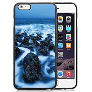 Fashionable Custom Designed Samsung Galaxy Note3 Phone Case With Sea Rocks Covered In Mist_Black Phone Case