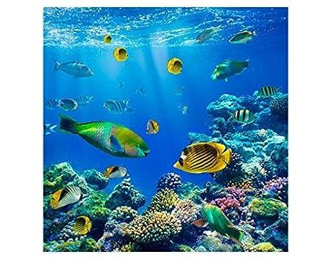 Fensterfolie Sichtschutz Fenster Underwater Dreams Fensterbild Fensterdeko Deko